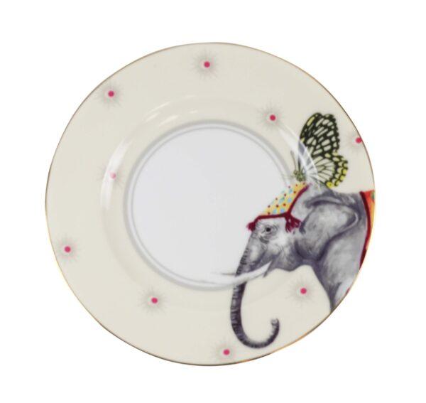 Colourful Carnival Animals Cake Plates
