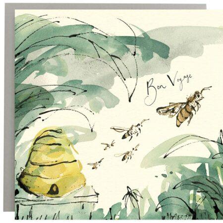 Bon Voyage Bee Card