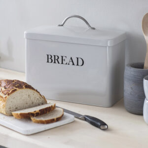 Chalk Bread Bin