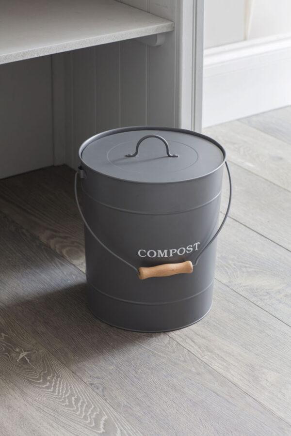 Charcoal Compost Bucket 10L