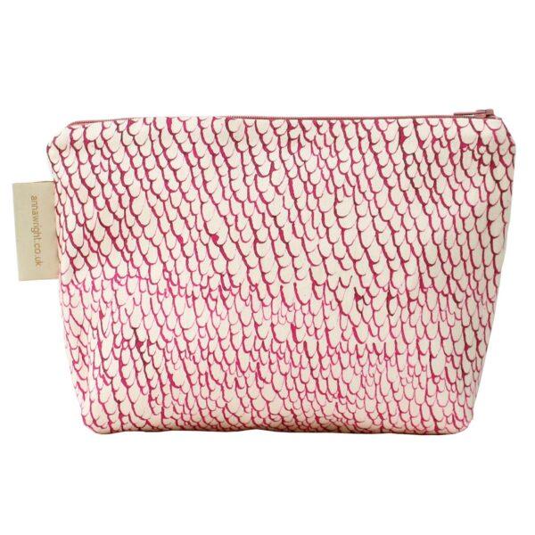 Friday Night Flamingo Make up Bag Back
