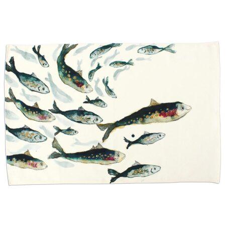 Fishy Friends Tea Towel