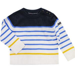 FABULEUX Jumper - Blue & Yellow Stripes