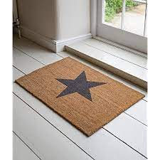 Star Doormat Large Garden Trading
