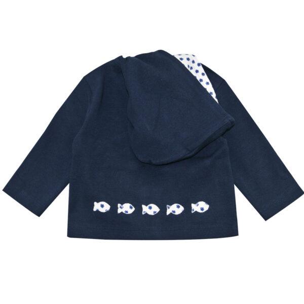 HOLA Zip through hoodie