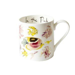 In the Pink Fish Mug
