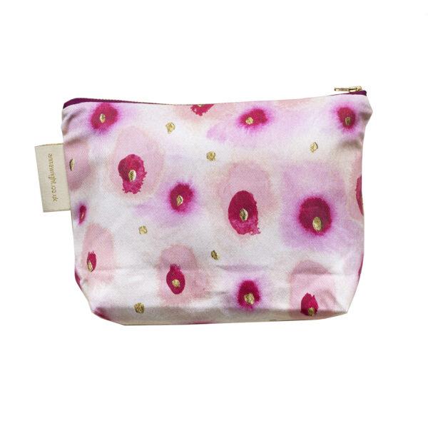 In the Pink Make up Bag Back