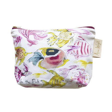 In the Pink Make up Bag