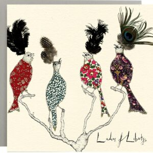 Ladies of Liberty Bird Card