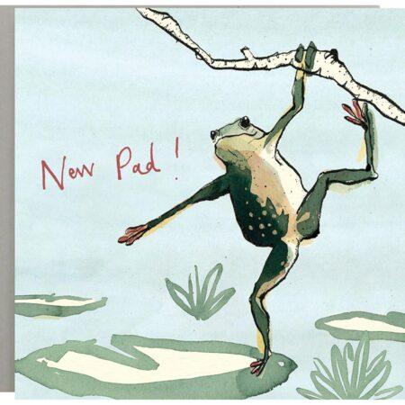 New Pad Frog Card