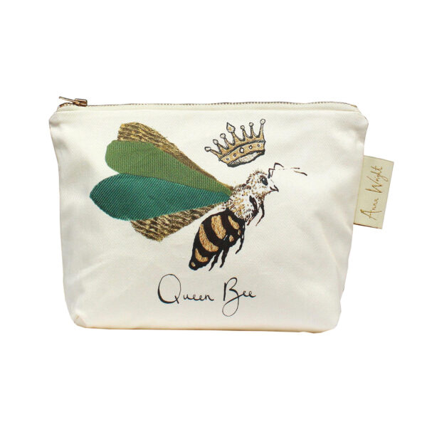 Queen Bee Makeup Bag