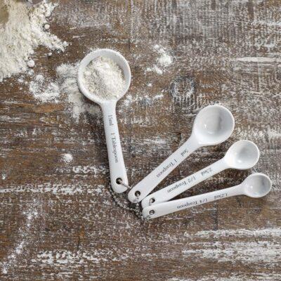 Rialto Porcelain Measuring Spoon Set
