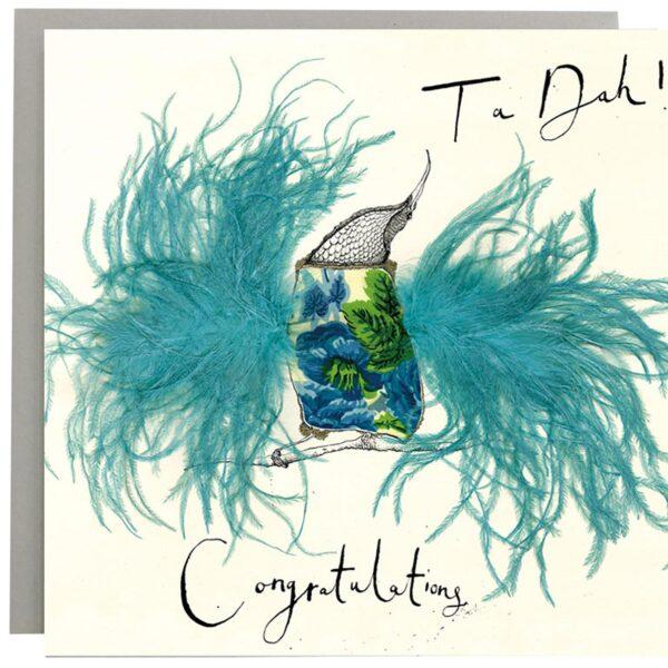 Ta Dah! Congratulations Bird Card