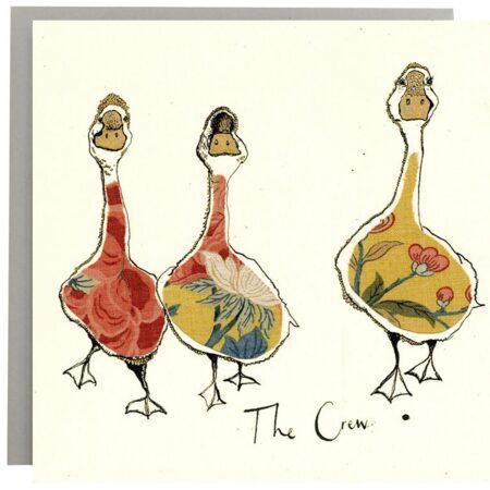 The Crew Ducks Card