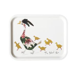 The School Run Duck Tray