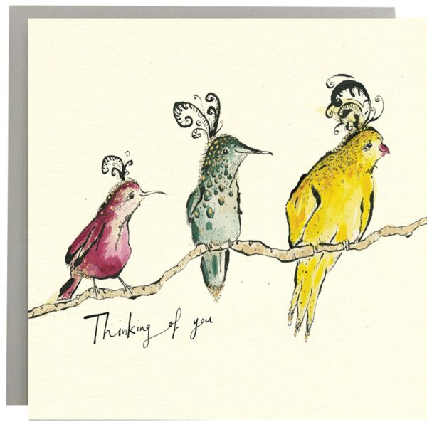 Thinking of You Birds Card