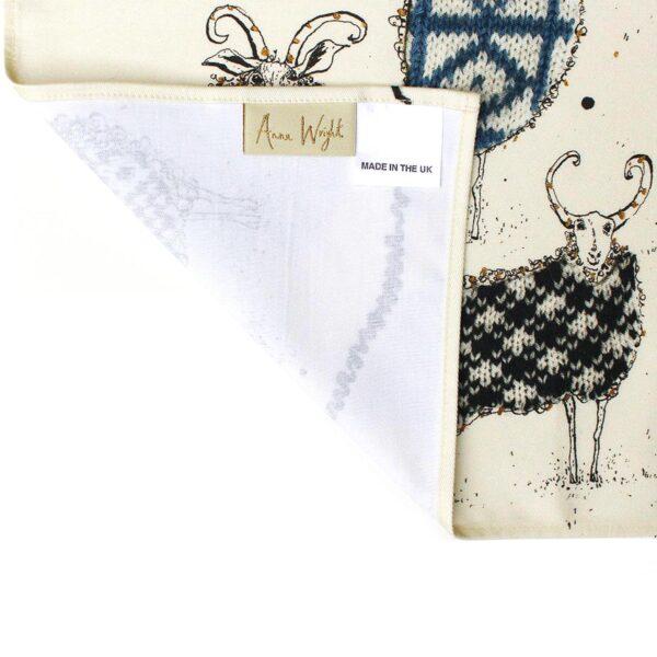 The Knitting Circle Tea Towel
