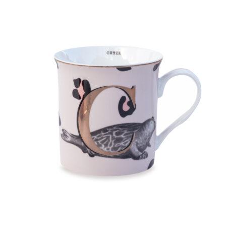 Yvonne Ellen Gold Edition Mug 'C'