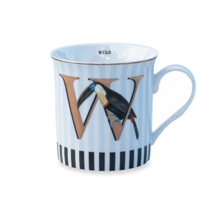 Yvonne Ellen Gold Edition Mug 'W'