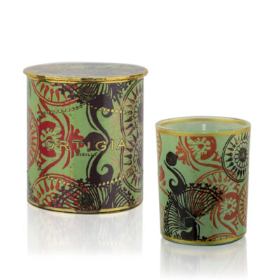 Fico Decorated candle