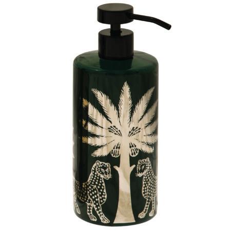 Florio Liquid Soap & Gold Ceramic Dispenser