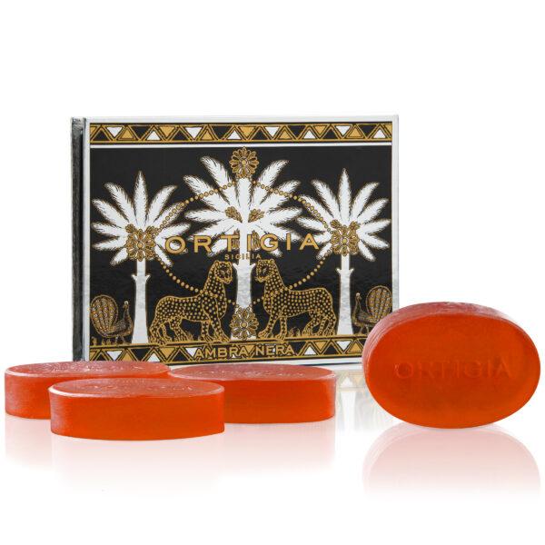 Ambra Nera Glycerine Soap Box