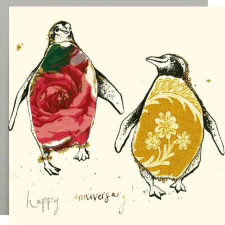 Happy Anniversary Penguins Card