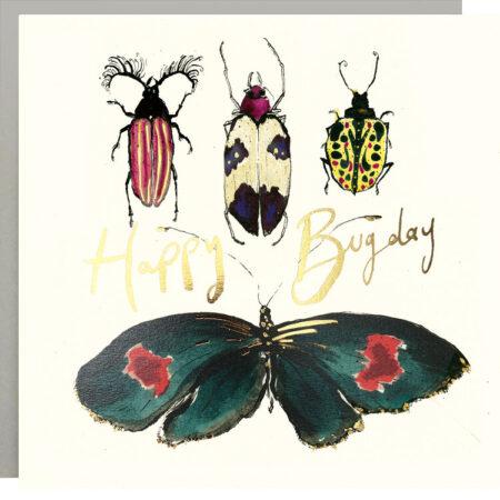 Happy Bugday Bugs Card