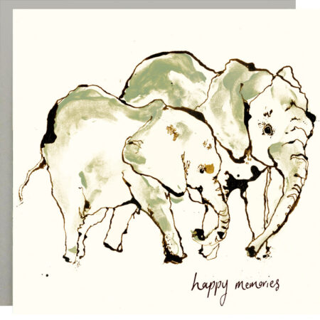 Happy Memories Elephant Card