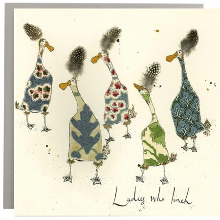 Ladies Who Lunch Duck Card
