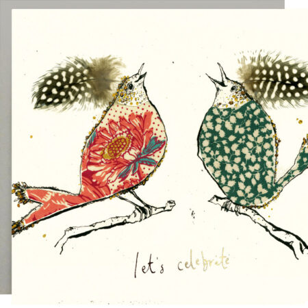 Lets Celebrate Birds Card