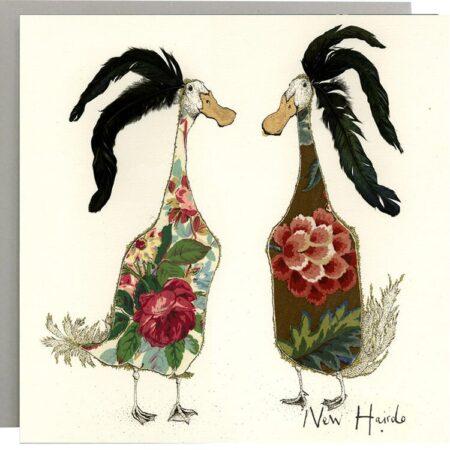 New Hairdo Duck Card
